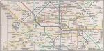 Mapa - Metrô e RER - PARIS