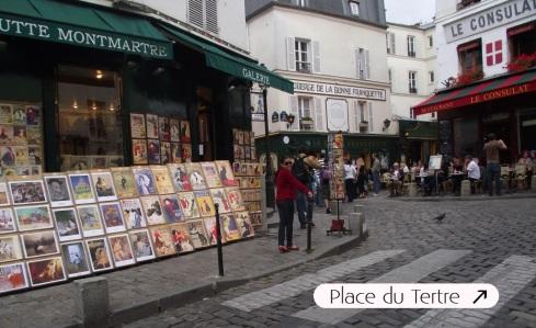 Rue Norvins - Montmartre