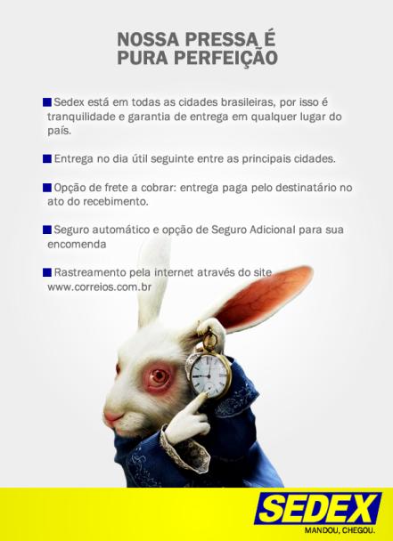 Anúncio - Revista - SEDEX