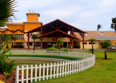 Recepção - Prodigy Beach Resort - ARACAJU