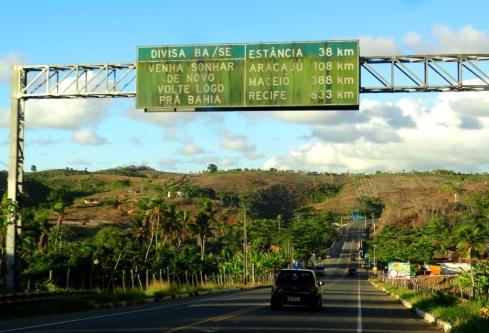 Divisa Bahia/Sergipe - Linha Verde