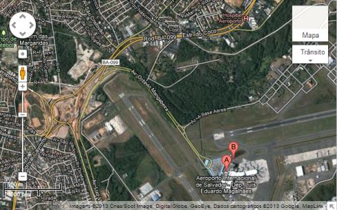 Aeroporto/Estrada do Coco - Salvador.BA