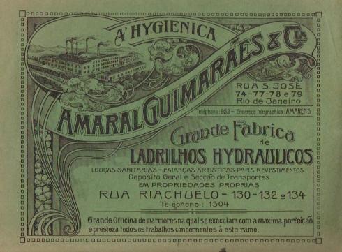 Anúncio de 1918 - disponível em marcianassrallah.com.br