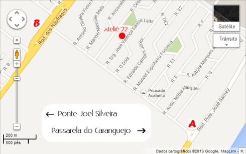 Mapa Ateliê 22