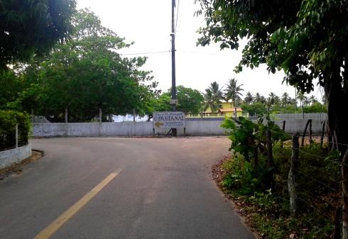 Estrada para o Bar Pantanal