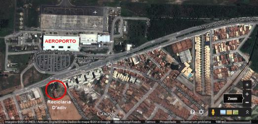 Mapa Google - Reciclaria.D'adiv