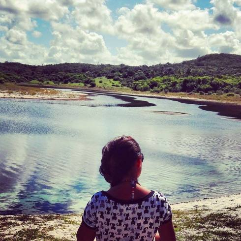 Lagoa Azul - Praia do Baixio - Bahia