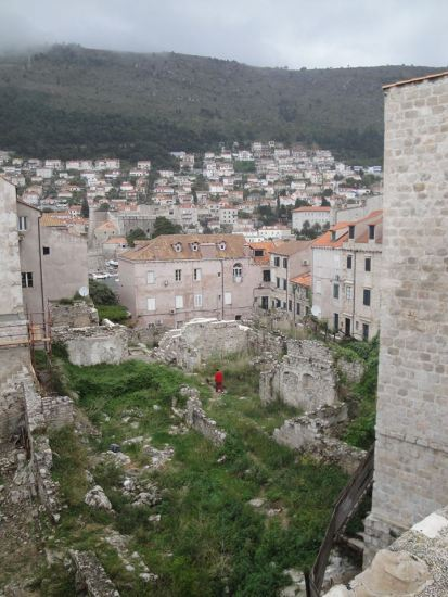 Ruínas da Cidade Murada - Dubrovnik - CROÁCIA