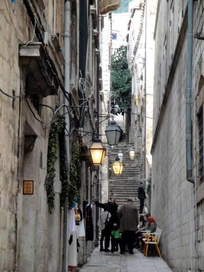 Ruelas de Dubrovnik - Croácia