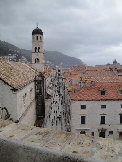 Vista da Muralha - Dubrovnik - CROÁCIA