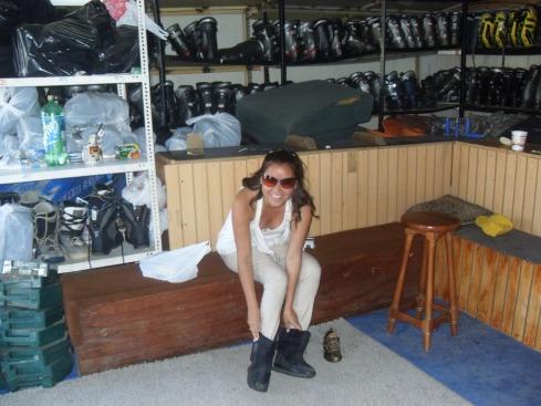 Aluguel de calçados para esqui - Santiago - CHILE