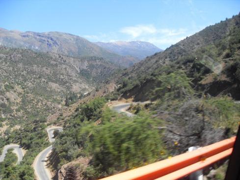 Curvas da Cordilheira dos Andes - CHILE
