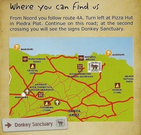 Mapa - DonkeySanctuary
