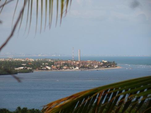 Mirante da Praia do Gunga - Vista de Maceió e Barra de São Miguel - ALAGOAS