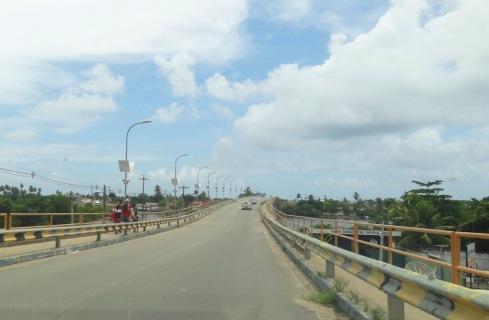 Ponte para a Ilha da Crôa - ALAGOAS