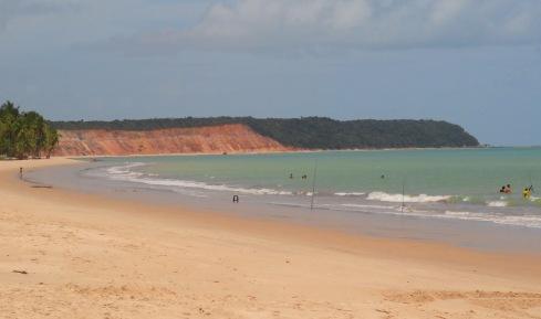 Primeiro trecho da Praia do Carro Quebrado - ALAGOAS