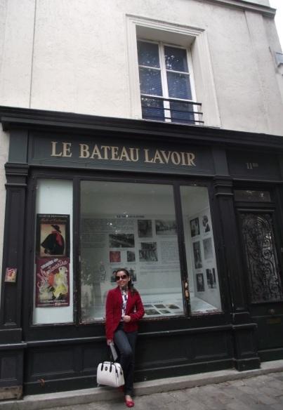 Le Bateau Lavoir - Montmartre- PARIS