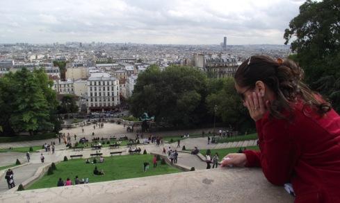 Vista de Montmartre - PARIS