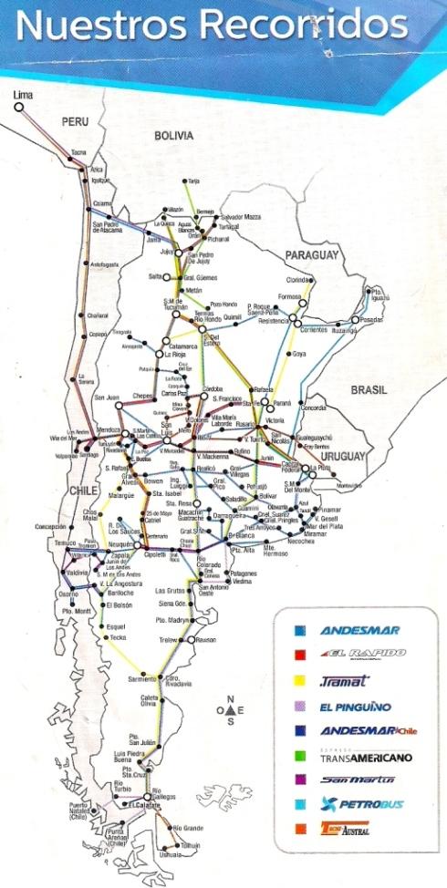Itinerários-Argentina
