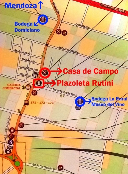 Mapa Maipú - Grande Mendoza
