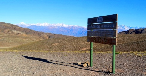 Mirador del  Aconcagua