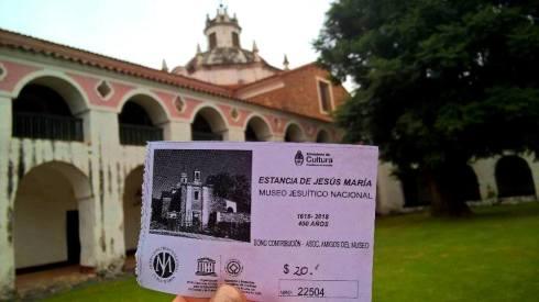 Entrada - Estancia Jesús María - ARGENTINA