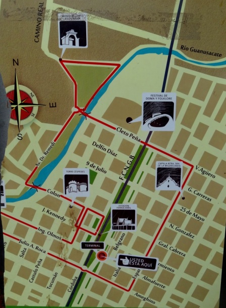 Mapa Jesús María - Córdoba - ARGENTINA