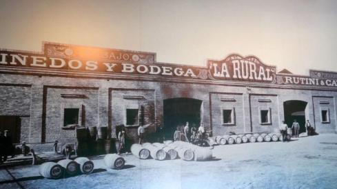 Bodega La Rural - Foto Antiga - Maipú - ARGENTINA