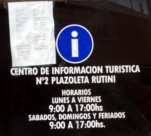 Centro de Informações Turísticas - Maipú - MDZ - ARGENTINA