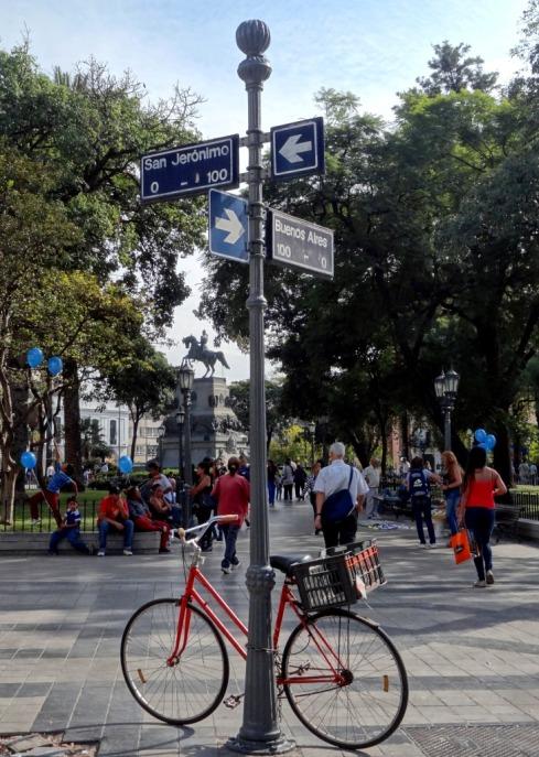 Plaza San Martin - Cordoba - ARGENTINA