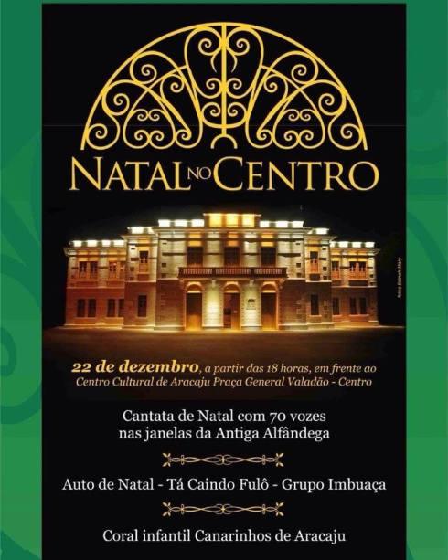 Natal no Centro 2016 - ARACAJU