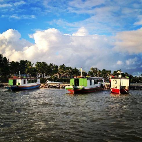 Barcos Coletivos - Povoado Pontal - SERGIPE