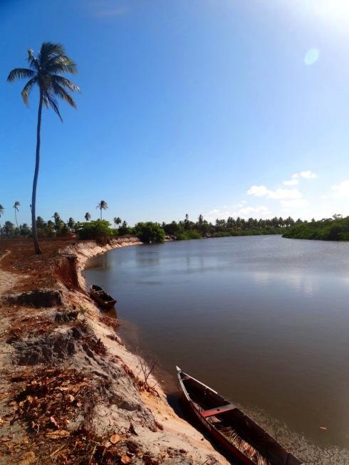 Paisagem do caminho para o Povoado Coqueiro - Costa Azul- Linha Verde - BAHIA