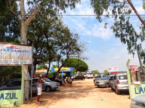 Restaurante Lagoa Azul - Abaís - Estância-SERGIPE