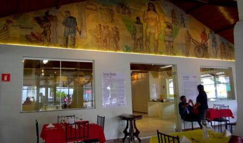 Painel de Jenner Augusto - Cacique Chá - Centro de Aracaju