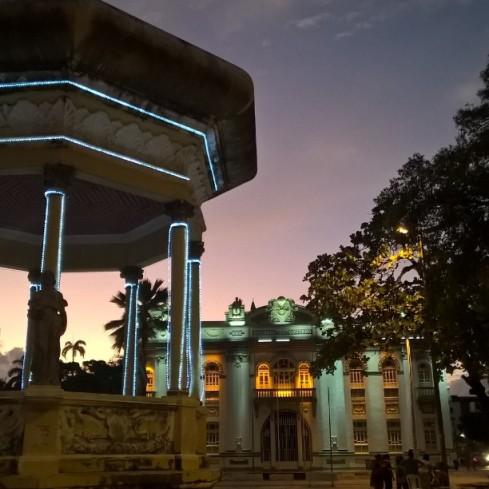 Praça Fausto Cardoso e Palácio-Museu Olímpio Campos - ARACAJU - SERGIPE