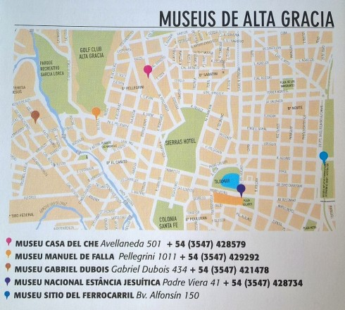 Museus Alta Gracia - Córdoba - ARGENTINA