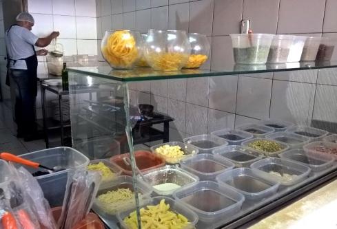 Macarrão Massa - Ingredientes - Augusto Franco - ARACAJU