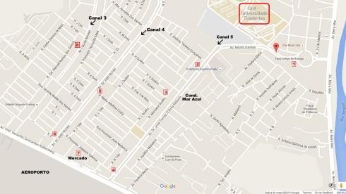 Mapa-Conjunto Augusto Franco -ARACAJU (editado por misscheck-in.com)
